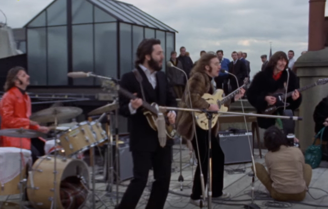 John and Paul on the Roof-Top
