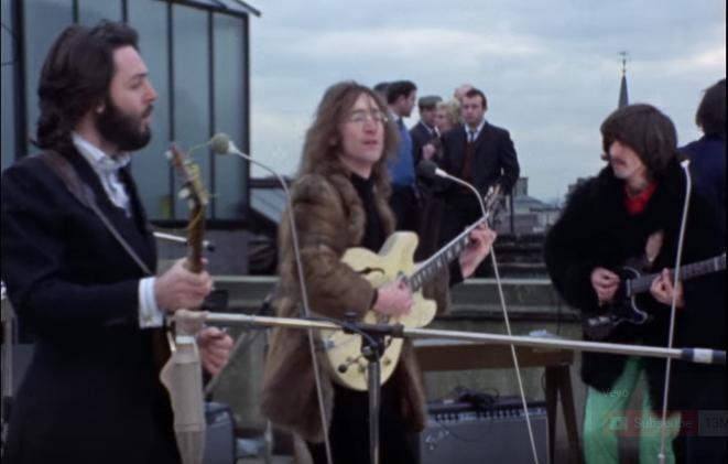 Beatles roof-top