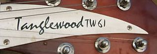 Tanglewood truss rod cover