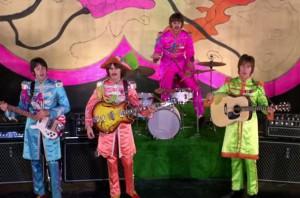 Sgt Pepper look