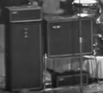 Beatles amps in Washington 1964