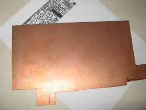 Bare copper board