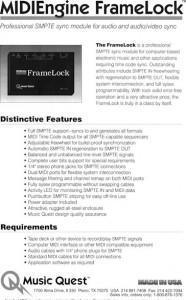 frame lock brochure