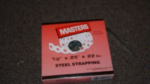Box of strapping