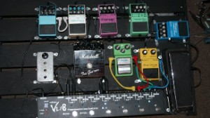 finished pedal board