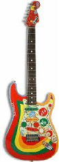 George's Rocky guitar