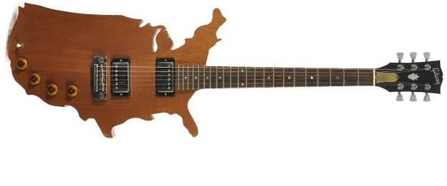 gibson map guitar
