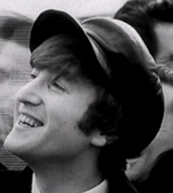 John Lennon In Cap Side View